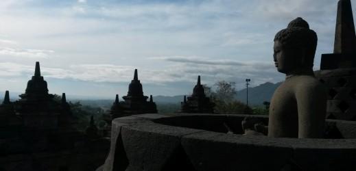 Borobudur au petit matin