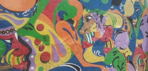 Yogjakarta street painting